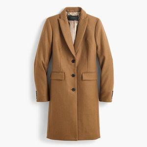 Jcrew Parke camel coat